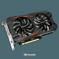 Photo Gigabyte GeForce GTX 1050 Ti Windforce OC 4Gb (GV-N105TWF2OC-4GD)